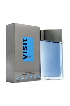 Loris Azzaro Visit  men 3.4oz EDT Spray