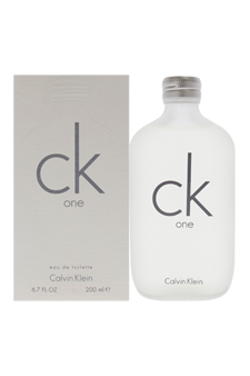 C.K. One by Calvin Klein for Unisex - 6.7 oz EDT Spray