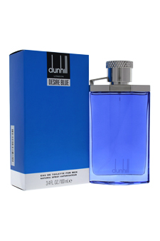 Desire Blue by Alfred Dunhill for Men - 3.4 oz EDT Spray