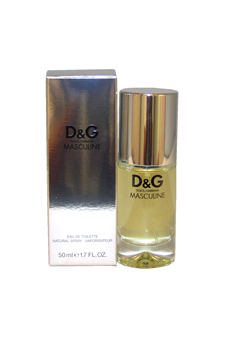 D & G Masculine by Dolce & Gabbana for Men - 1.7 oz EDT Spray
