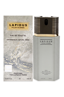 Lapidus by Ted Lapidus for Men - 3.3 oz EDT Spray