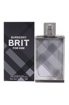 Burberry Brit  men 3.3oz EDT Spray