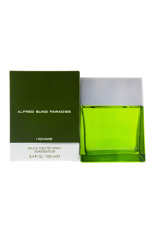 Alfred Sung Sung Paradise  men 3.3oz EDT Spray
