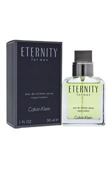 Calvin Klein Eternity  men 1oz EDT Spray