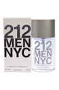 212 by Carolina Herrera for Men - 1 oz EDT Spray
