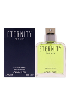 Calvin Klein Eternity  men 6.7oz EDT Spray