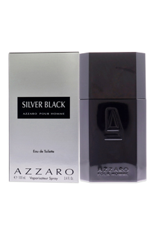 Loris Azzaro Silver Black  men 3.4oz EDT Spray