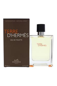 Terre D'Hermes by Hermes for Men - 3.3 oz EDT Spray