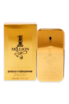 1 Million by Paco Rabanne for Men - 1.7 oz EDT Spray