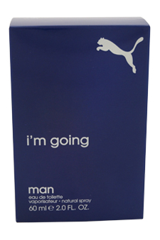Puma I'm Going by Puma for Men - 2 oz EDT Spray