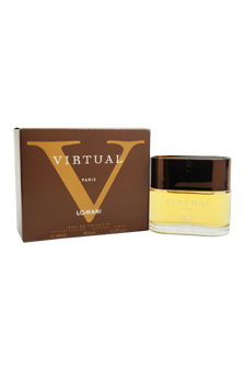 Virtual V by Lomani for Men - 3.4 oz EDT Spray