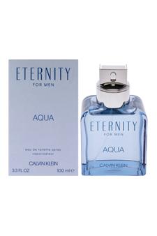 Calvin Klein Eternity Aqua  men 3.4oz EDT Spray
