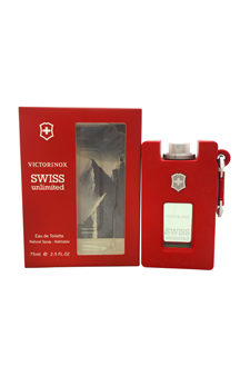 Swiss Unlimited by Swiss Army for Men - 2.5 oz EDT Spray (Refillable)