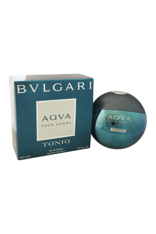 Bvlgari Aqva Toniq  men 3.4oz EDT Spray