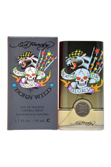 Ed Hardy Born Wild by Christian Audigier for Men - 1.7 oz EDT Spray