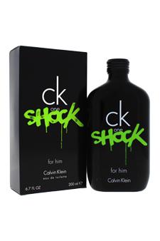 Calvin Klein CK One Shock for men 6.7oz EDT Spray