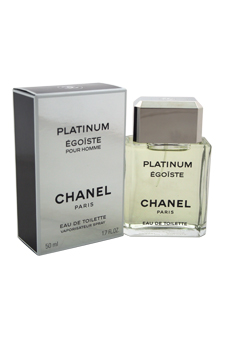 Chanel Egoiste Platinum  men 1.7oz EDT Spray