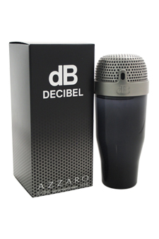 Loris Azzaro dB Decibel  men 3.4oz EDT Spray