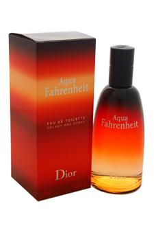 Christian Dior Aqua Fahrenheit  men 2.5oz EDT Spray