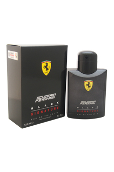 Ferrari Scuderia Black Signature by Ferrari for Men - 4.2 oz EDT Spray
