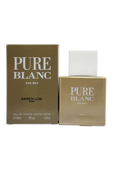 Click here for Karen Low Pure Blanc Cologne 3.4 Oz For Men - PURB... prices