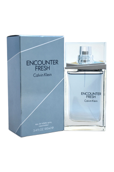 Calvin Klein Encounter Fresh  men 3.4oz EDT Spray