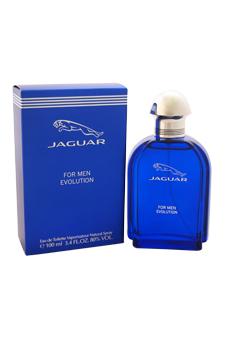 Jaguar Evolution by Jaguar for Men - 3.4 oz EDT Spray