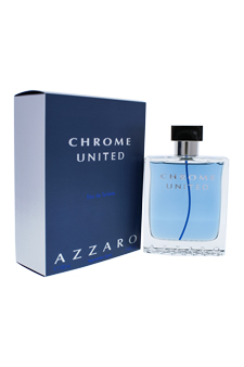 Loris Azzaro Chrome United  men 3.4oz EDT Spray