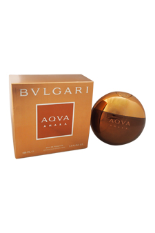 Bvlgari Aqva Amara  men 3.4oz EDT Spray