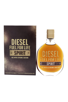 Diesel Fuel for Life Spirit by Diesel for Men - 2.5 oz EDT Spray