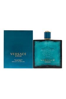 Versace Eros  men 6.7oz EDT Spray