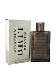 Burberry Brit Rhythm  men 3oz EDT Spray
