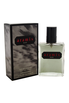 Aramis Black  men 3.7oz EDT Spray