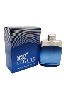 Mont Blanc Legend by Montblanc for Men - 3.3 oz EDT Spray ( Special Edition)