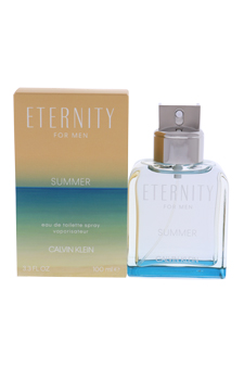 Calvin Klein Eternity Summer  men 3.4oz EDT Spray