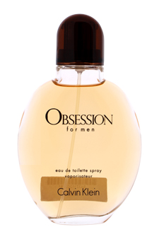 Calvin Klein Obsession  men 4oz EDT Spray (Unboxed)