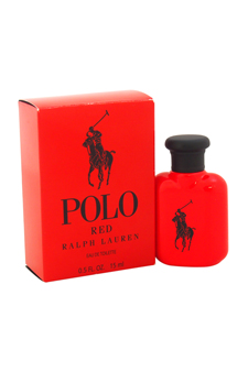 Polo Red by Ralph Lauren for Men - 0.5 oz EDT Splash (Mini)