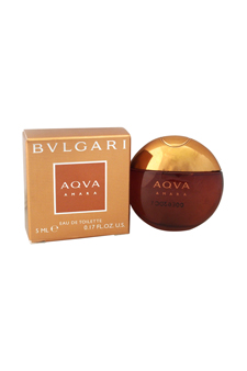 Bvlgari Aqva Amara by Bvlgari for Men - 0.17 oz EDT Splash (Mini)