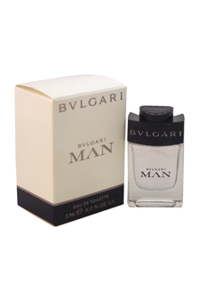 Bvlgari Man by Bvlgari for Men - 0.17 oz EDT Splash (Mini)