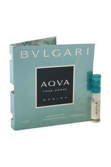 Bvlgari Aqva Marine by Bvlgari for Men - 0.05 oz EDT Spray Vial (Mini)
