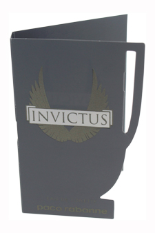 Invictus by Paco Rabanne for Men - 0.05 oz EDT Spray Vial (Mini)