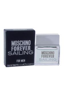 Moschino Forever Sailing by Moschino for Men - 0.12 oz EDT Splash (Mini)