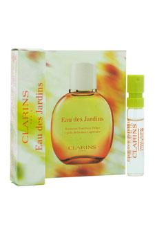 Eau De Jardins Treatment Fragrance by Clarins for Unisex - 0.07 oz Fragrance Spray (Mini)