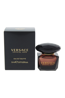 Versace Crystal Noir by Versace for Women - 5 ml EDT Splash (Mini)