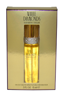 White Diamonds by Elizabeth Taylor for Women - 0.5 oz EDT Spray (Mini)