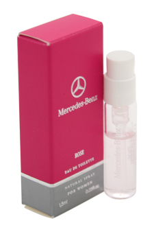 Mercedes-Benz Rose by Mercedes-Benz for Women - 0.05 oz EDT Spray Vial (Mini)