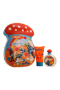 The Smurfs Brainy by First American Brands for Kids - 2 Pc Gift Set 1.7oz EDT Spray, 2.5oz Bubble Bath
