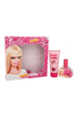 Barbie by Mattel for Kids - 2 Pc Gift Set 1.02oz EDT Spray, 2.04oz Body Lotion