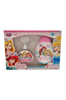 My Princess and Me by My Princess and Me for Kids - 2 Pc Gift Set 3.4oz EDT Spray, 10.2oz Shampoo & Shower Gel