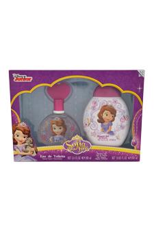 Sofia the First by Disney for Kids - 2 Pc Gift Set 3.4oz EDT Spray, 10.02oz Shower Gel